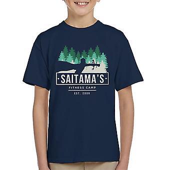 One Punch Man Saitama Fitness Camp Kid's T-Shirt