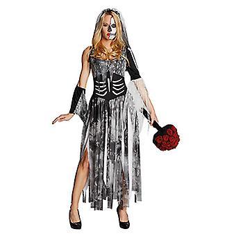 Zombie bride Halloween horror dress horror bride costume for women
