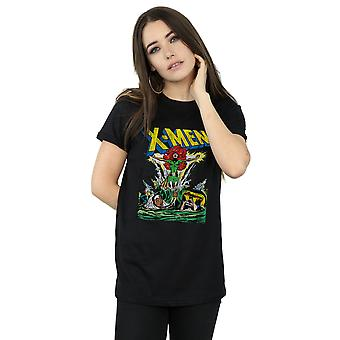 Marvel vrouwen X-Men Voer de Phoenix Boyfriend Fit T-Shirt