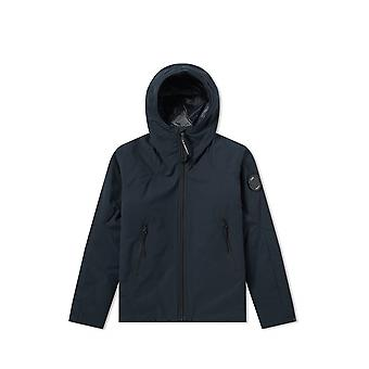 C.P. Company Undersixteen C.P. Company Undersixteen marineblauwe Pro-Tek gewatteerde jas