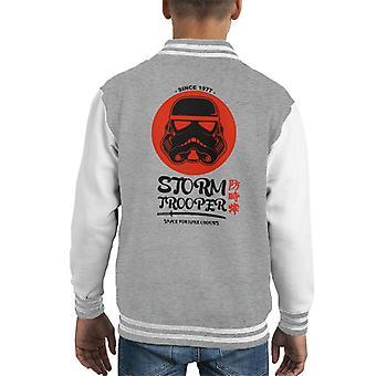 Opprinnelige Stormtrooper plass Fortune Cookies barneklubb Varsity jakke