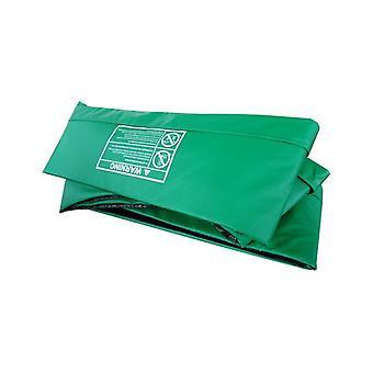 Spillet idrett Trampoline utkanten 366 x183 Green