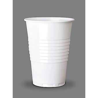 White Disposable Vending Tall Cold Cup 7oz