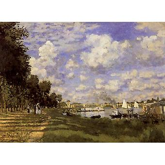 The Petit Bras of the Seine at Argenteuil, Claude Monet, 52.6 x 71.8 cm
