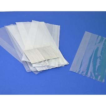 30 Long Cellophane Party Bags - Clear | Kids Party Loot Bags