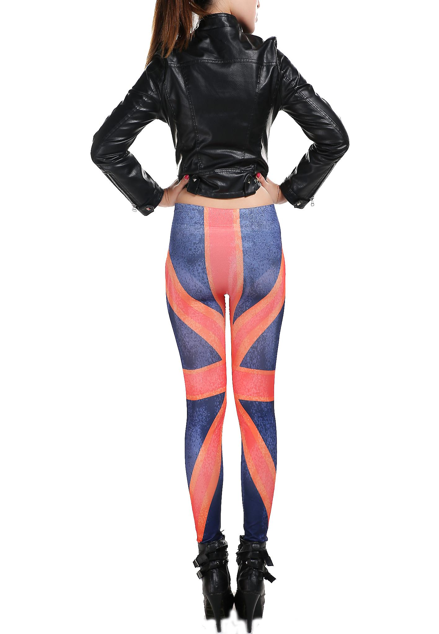 Waooh - Fashion - Legging printed English flag
