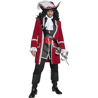 Authentic Pirate Captain Costume, Chest 38