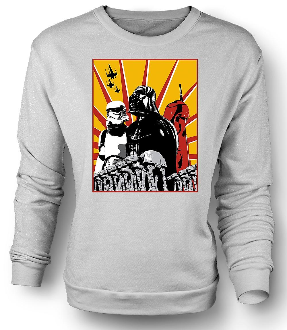 Mens Sweatshirt Star Wars - Darth Vader & Storm Tropper
