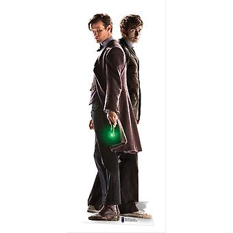 The 10th and 11th Doctors Lifesize Cardboard Cutout / Standee - Doctor Who 50th Anniversary Special