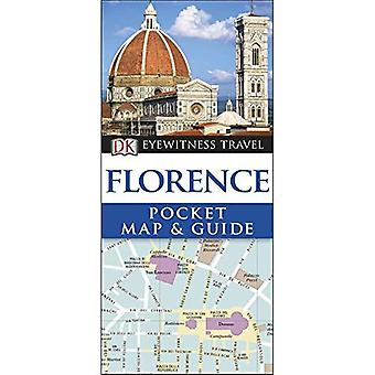 Florence Pocket Map and Guide�(DK Eyewitness Travel Guide)
