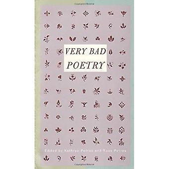 Mycket dålig poesi