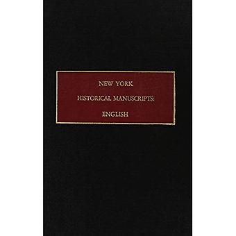 Books of general entries of the colony of New York