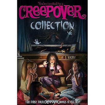 Usted está invitado a una colección de Creepover: los cuatro primeros libros de Crepover en un juego!
