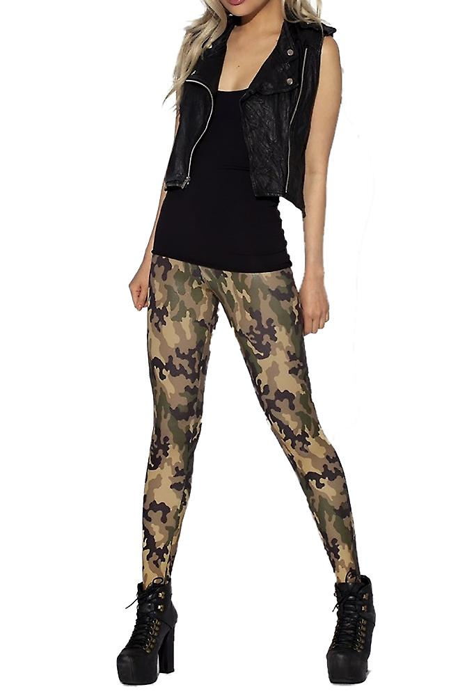 Waooh - printed leggings military Glan