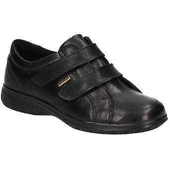 Cotswold Womens Haythrop Easy Wear Apron Toe Leather Shoes