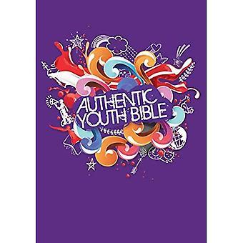 ERV autentiska ungdom Bibeln lila