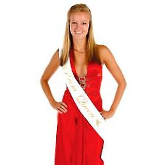 Prom Queen Satin Sash (1)