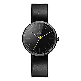Braun Armbanduhr, schwarz