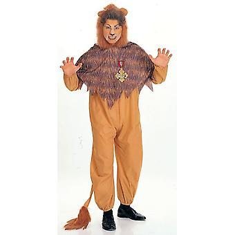 Zauberer von Oz feigen Löwen Kostüm