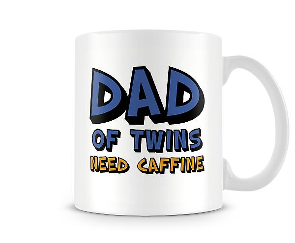Dad Of Twins Need Caffine Mug