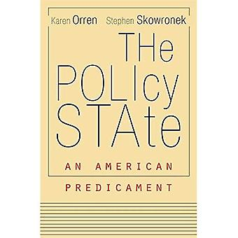 Beleidsstatus - een Amerikaanse hachelijke situatie