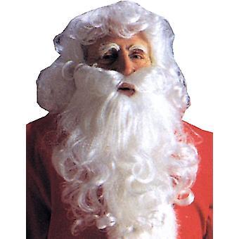 サンタ服ウィッグとクリスマスのひげ経済