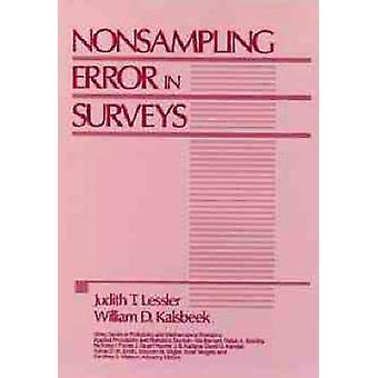 Nonsampling Error in Surveys by Lessler & Judith T.