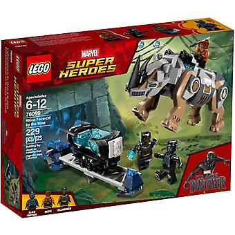 LEGO 76099 Rhino fight at the my