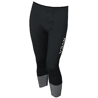 RVCA Mens VA Sport Compression 7/8 Pants - Black