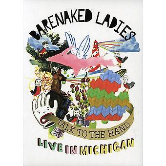 Senhoras Barenaked-fale com a mão: Live in Michigan [DVD] EUA importação