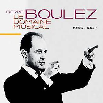 Pierre Boulez - Le Domaine Musi(Ltd) [CD] USA import