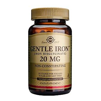 Solgar Gentle Iron 20 mg Vegetable Capsules, 180