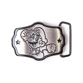 Nintendo Silver Super Mario Belt Buckle