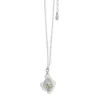 Pilgrim Ladies´ necklace :boho nature green/silver (474401)