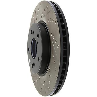 StopTech 127.40086R SLOT/DRILL ROTOR