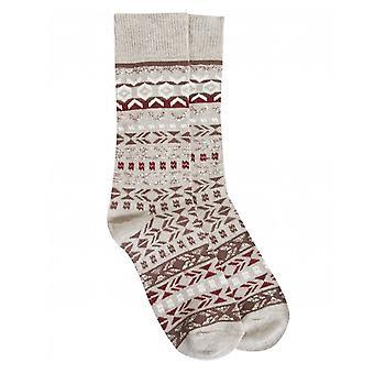 Birkenstock Patterned Wool Socks