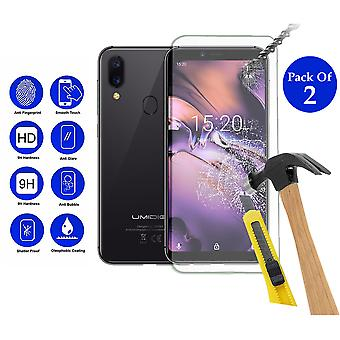 Pack of 2 Tempered Glass Screen Protection For Umidigi A3 5.5