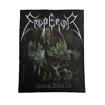 Emperor Back Patch Anthems to the Welkin at Dusk Official New Black 36cm x 29cm