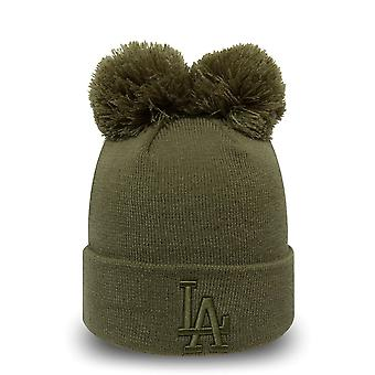 New Era Damen Wintermütze Bobble Beanie - LA Dodgers