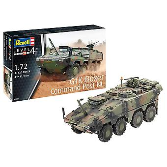 Revell 03283 GTK Boxer Command Post NL Plastic Model Kit, Multicolour, 1/72
