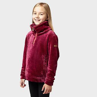 New Regatta Kids' Keera Half Zip Fleece Pink