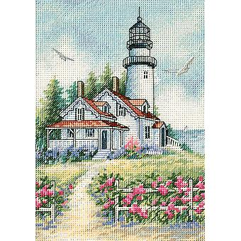 Gold Collection Petite Scenic Lighthouse Counted Cross Stitc 5