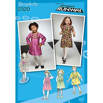 Simplicity Toddlers Dresses 4 5 6 7 8 U02320bb