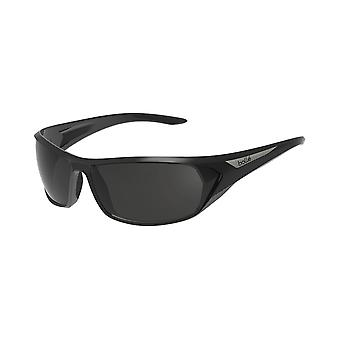 Bolle Blacktail Sunglasses (Shiny Black/Black Frame and TNS oleo AF Lens)