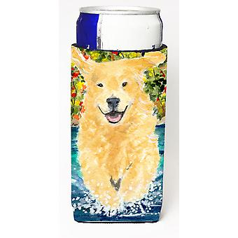 Golden Retriever Ultra Beverage Insulators for slim cans SS8978MUK