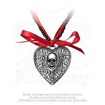 Alchemy Gothic The Reliquary Heart Locket Pendant