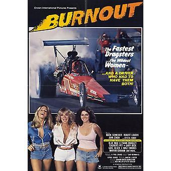 Burnout-Film-Plakat-Druck (27 x 40)