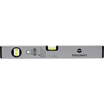 Spirit level TOOLCRAFT 1244214 Level accuracy 1 mm/m