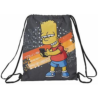 Safta Saco Plano The Simpsons Technology (Toys , School Zone , Backpacks)