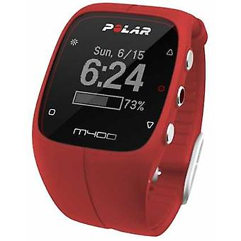 Polar Polar Unisex M400 Bluetooth GPS (Red With HR) Activity 90061177 Watch